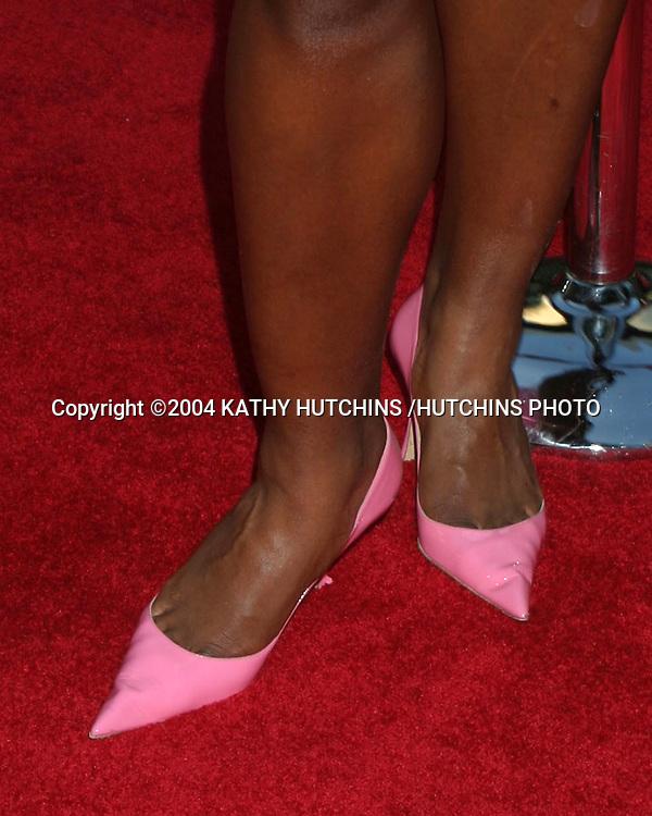 "©2004 KATHY HUTCHINS /HUTCHINS PHOTO.""THE BOURNE SUPREMACY"" PREMIERE.HOLLYWOOD, CA.JULY 15, 2004..SERENA WILLIAMS"