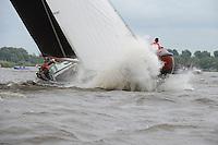 ZEILEN: TERHERNE: Snitser Mar, SKS skûtsjesilen, winnaar skûtsje Earnewâld, ©foto Martin de Jong