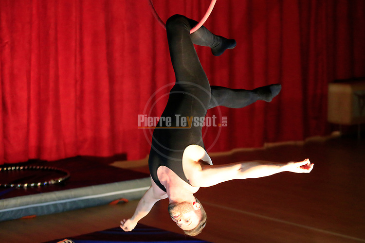 Aerial Dance Show at the Artinaria Aerial Lab in Pergine Valsugana on 30/04/2016. Photo Pierre Teyssot<br /> www.artinaria.it