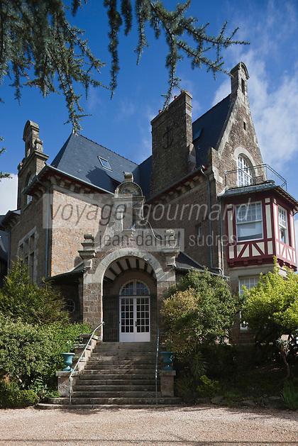 Europe/France/Bretagne/35/Ille et Vilaine/env de Cancale/ St-Méloir-des-Ondes: Château Richeux l'Hôtel de Charme d' Olivier Roellinger   et son restaurant: Le Coquillage