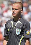 22 July 2007: Assistant Referee Fermin Martinez (ESP). At the National Soccer Stadium, also known as BMO Field, in Toronto, Ontario, Canada. Argentina's Under-20 Men's National Team defeated the Czech Republic's Under-20 Men's National Team 2-1 in the championship match of the FIFA U-20 World Cup Canada 2007 tournament.