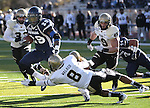 Nevada's Lampford Mark runs in an NCAA football game against Idaho in Reno, Nev., on Saturday, Dec. 3, 2011. Nevada won 56-3.  .Photo by Cathleen Allison
