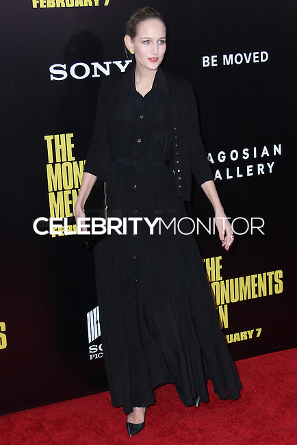 "NEW YORK, NY - FEBRUARY 04: Leelee Sobieski at the New York Premiere Of Columbia Pictures' ""The Monuments Men"" held at Ziegfeld Theater on February 4, 2014 in New York City, New York. (Photo by Jeffery Duran/Celebrity Monitor)"