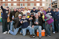 Pitt fans tailgate before the game. Cincinnati Bearcats defeated the Pitt Panthers 26-23 at Heinz Field in Pittsburgh, Pennsylvania on November 5, 2011.