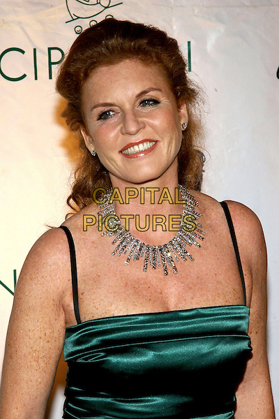 SARAH FERGUSON - DUCHESS OF YORK - FERGIE.The Cipriani Wall Street Concert Series Finale at Cipriani Wall St., New York, NY.  .November 1st, 2005.Photo: Jackson Lee/Admedia/Capital Pictures.Ref: JL/ADM.headshot portrait necklace.www.capitalpictures.com.sales@capitalpictures.com.© Capital Pictures.