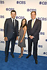 Tony Romo, Tracy Wolfson and Jim Nantz attend the CBS Upfront 2018-2019 at The Plaza Hotel in New York, New York, USA on May 16, 2018.<br /> <br /> photo by Robin Platzer/Twin Images<br />  <br /> phone number 212-935-0770