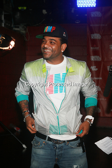 Jim Jones Attends Boost Mobile in association with Guerilla Union Presents An East Coast ROCK THE BELLS FESTIVAL SERIES Press Conference and Fan Appreciation Party at Santos Party House, NY D. Salters/WENN 6/13/12