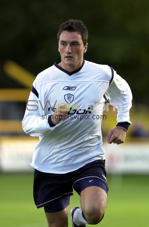 Pix: Simon Wilkinson/SWpix.com. Pre-season Friendly Southport v Bolton Wanderers. 09/08/2001..COPYWRIGHT PICTURE>>SIMON WILKINSON>>01943 436649>>..Bolton Wanderers Jeff Smith.