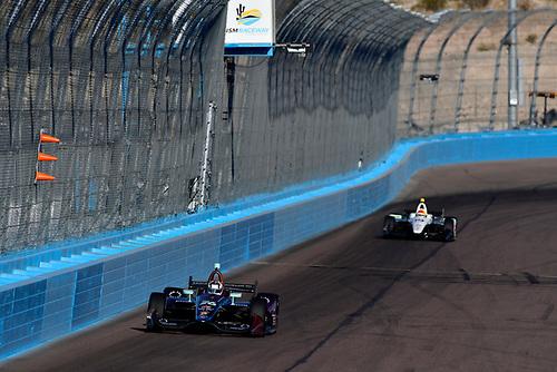 2018 Verizon IndyCar Series Phoenix testing<br /> Phoenix Raceway, Avondale, Arizona, USA<br /> Thursday 8 February 2018<br /> Zach Veach, Andretti Autosport Honda<br /> World Copyright: Scott R LePage/LAT Images<br /> ref: Digital Image _SRL0628