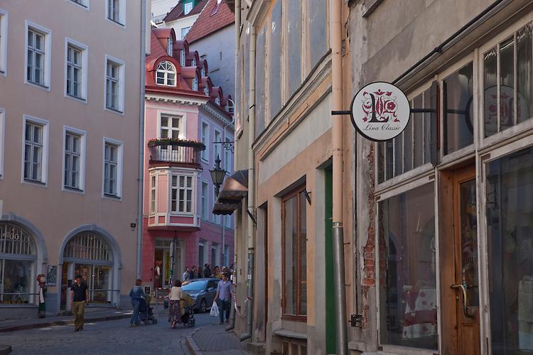 Downtown-Tallin,Estonia
