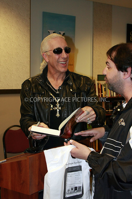 WWW.ACEPIXS.COM . . . . .  ....May 11 2012, Philadelphia....Twisted Sister front man Dee Snider signed copies of his book 'Shut up and give me the mic' on May 11 2012 in Philadelphia....Please byline: William T. Wade jr- ACE PICTURES.... *** ***..Ace Pictures, Inc:  ..Philip Vaughan (212) 243-8787 or (646) 769 0430..e-mail: info@acepixs.com..web: http://www.acepixs.com