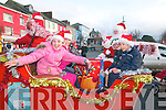 Children who were lucky to get a ride on Santa's sleigh in Listowel on Sunday last.