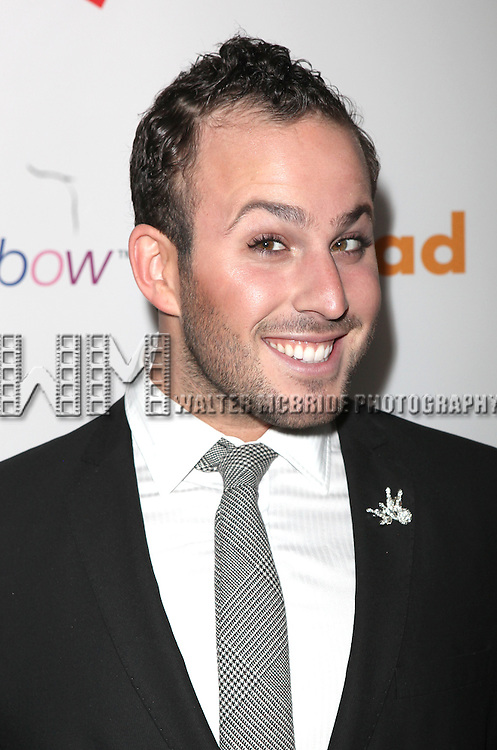 Micha Jesse.attending the 22nd Annual GLAAD Media Awards in New York City.