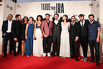 "Raul Arebalo, Antonio de la Torre, Luis Callejo, Ruth Díaz, Manolo Solo, Alicia Rubio, Raúl Jiménez, Font García and Luis Poveda during the premiere of the film ""Tarde para la Ira"" in Madrid. September 08, 2016. (ALTERPHOTOS/Rodrigo Jimenez)"