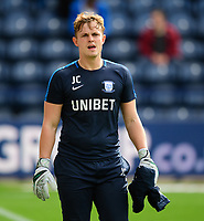 Preston North End's goalkeeper coach Jack Cudworth during the pre-match warm-up<br /> <br /> Photographer Chris Vaughan/CameraSport<br /> <br /> The EFL Sky Bet Championship - Preston North End v Reading - Saturday 15th September 2018 - Deepdale - Preston<br /> <br /> World Copyright &copy; 2018 CameraSport. All rights reserved. 43 Linden Ave. Countesthorpe. Leicester. England. LE8 5PG - Tel: +44 (0) 116 277 4147 - admin@camerasport.com - www.camerasport.com