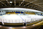 Lawler Arena - The Merrimack College Warriors defeated the Boston College Eagles 5-3 on Sunday, November 1, 2009, at Lawler Arena in North Andover, Massachusetts splitting the weekend series.