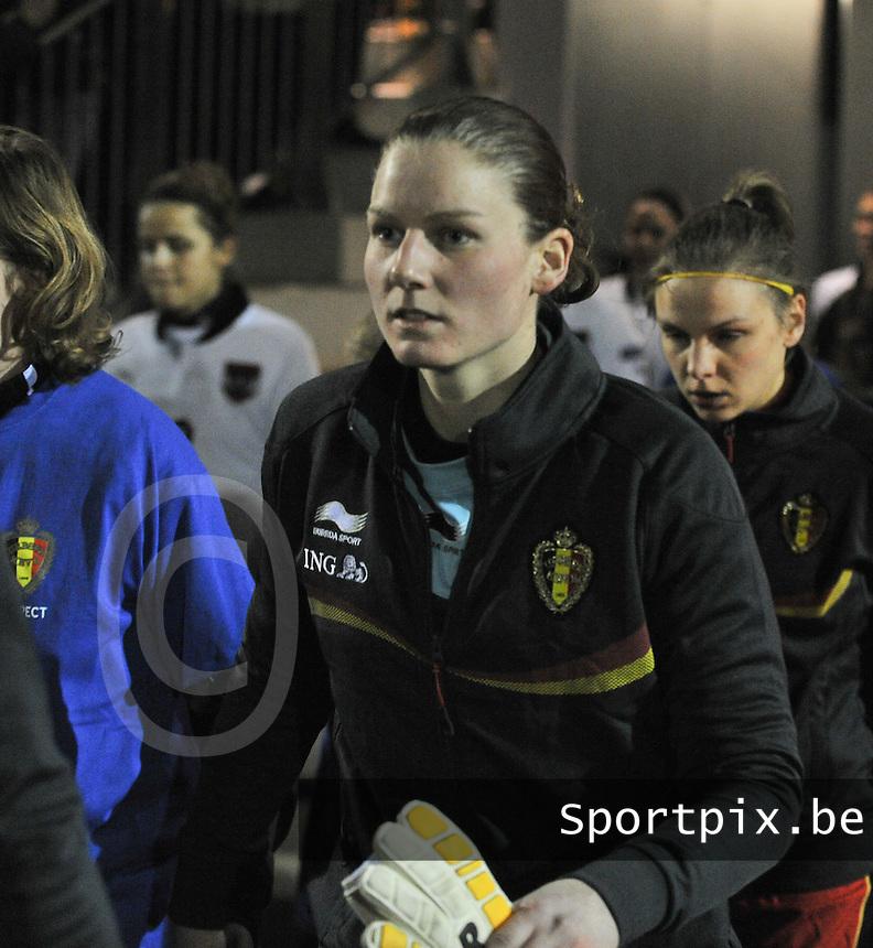 Belgium - Austria : Sofie Van Houtven.foto DAVID CATRY / Vrouwenteam.be