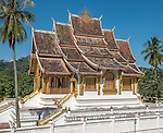 The Royal Palace and National Museum of Laos, located on the main street of Luang Prabang.