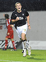 10/01/2009  Copyright Pic: James Stewart.File Name : sct_jspa16_falkirk_v_qots.SCOTT ARFIELD CELEBRATES AFTER HE SCORES FALKIRK'S SECOND.James Stewart Photo Agency 19 Carronlea Drive, Falkirk. FK2 8DN      Vat Reg No. 607 6932 25.Studio      : +44 (0)1324 611191 .Mobile      : +44 (0)7721 416997.E-mail  :  jim@jspa.co.uk.If you require further information then contact Jim Stewart on any of the numbers above.........