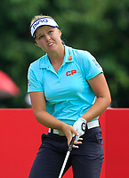 Brooke M. Henderson (USA) in action on the 11th during Round 4 of the HSBC Womens Champions 2018 at Sentosa Golf Club on the Sunday 4th March 2018.<br /> Picture:  Thos Caffrey / www.golffile.ie<br /> <br /> All photo usage must carry mandatory copyright credit (&copy; Golffile | Thos Caffrey)