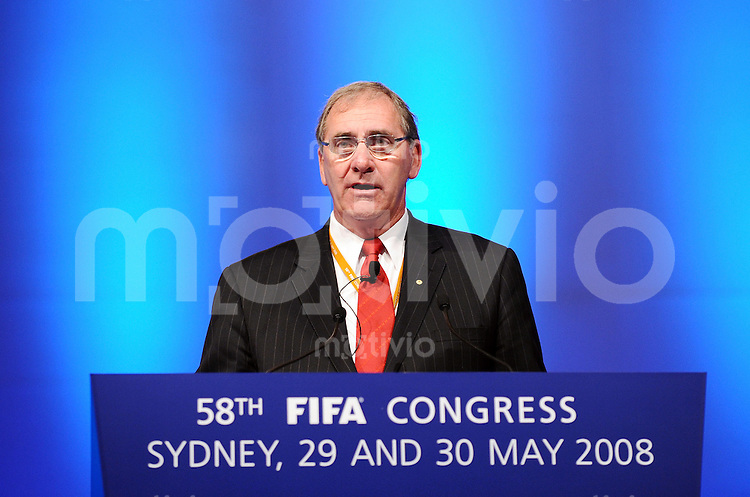 Fussball International  58. FIFA Kongress 2008   30.05.2008 WADA Praesident John Fahey (AUS)