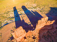 The Kissing Couple,  BLM lands near Moab, Utah  Also called Determination Towers