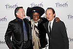 From left, actors Robin Williams, Whoopi Goldberg and Billy Crystal arrive for The Face of Tisch Gala to benefit New York University's Tisch School of the Arts, Monday, Dec. 6, 2010 in New York. (AP Photo/Jason DeCrow)