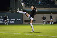 STANFORD, CA - NOVEMBER 22: Stanford, CA - November 22, 2019: Bianca Caetano-Ferrara at Laird Q. Cagan Stadium. The Stanford Cardinal defeated Hofstra 4-0 in the second round of the NCAA tournament. during a game between Hofstra and Stanford Soccer W at Laird Q. Cagan on November 22, 2019 in Stanford, California.