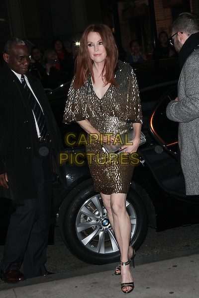 NEW YORK, NY - NOVEMBER 30:  Julianne Moore   at the 25th IFP Gotham Independent Film Awards co-sponsored by FIJI Water at Cipriani, Wall Street on November 30, 2015 in New York City.  <br /> CAP/MPI/DIE<br /> &copy;DIE/MPI/Capital Pictures