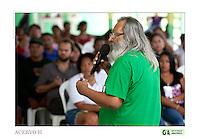 Rubens Gomes diretor da GTA fala a comunitários <br /> <br /> Criado o primeiro  protocolo comunitario na Amazônia estabelecendo relações comerciais com base nas leis ambientais de acordo a convencao da diversidade biologica, (A Convenção sobre Diversidade Biológica (CDB) é um tratado da Organização das Nações Unidas e um dos mais importantes instrumentos internacionais relacionados ao meio ambiente) . e o  protocolo de Nagoya ratificado em  2010.<br /> <br /> <br /> <br /> Articulado pelo  Grupo do Trabalho Amazônico – Rede GTA,   em parceria com a Regional GTA/Amapá,  Conselho Comunitário do Bailique, Colônia de Pescadores Z-5, IEF,  CGEN/DPG/SBF/MMA,   lideranças comunitárias se reuniram com representantes  do Ministério do Meio Ambiente, Ministério Público Federal, Embrapa e Conab para para debater os caminhos a seguir pondo em prática o o primeiro protocolo comunitário criado na Amazônia. O  chamado de III Encontrão,  aconteceu durante os dias 26, 27 e 28 de fevereiro na comunidade de São João Batista no arquipélago do Bailique  reunindo 78 lideranças  de 25 comunidades<br /> Amapá, Brasil.<br /> Foto Paulo Santos de <br /> 24/02 a 01/03 2015