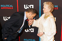 Adrian Pasdar and Ellen Burstyn at the screening of USA Network's 'Political Animals' at the Morgan Library & Museum in New York City. June 25, 2012. © Ronald Smits/MediaPunch Inc. *NORTEPHOTO* **SOLO*VENTA*EN*MEXICO** **CREDITO*OBLIGATORIO** **No*Venta*A*Terceros** **No*Sale*So*third** *** No*Se*Permite Hacer Archivo** **No*Sale*So*third** *Para*más*información:*email*NortePhoto@gmail.com*web*NortePhoto.com*