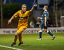 Motherwell's Nicky Law celebrates after he scores Motherwell's second goal...