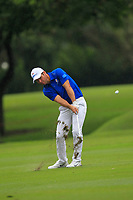 Paul Casey (Europe) on the 8th fairway during the Friday Foursomes of the Eurasia Cup at Glenmarie Golf and Country Club on the 12th January 2018.<br /> Picture:  Thos Caffrey / www.golffile.ie