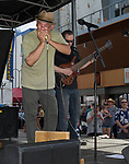 The Buddy Emmer Blues Band performs during the 24th Annual Great Eldorado Brews and Blues Festival in Reno, Nevada on Saturday, June 15, 2019.