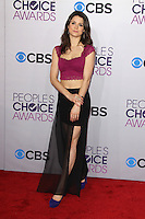 LOS ANGELES, CA - JANUARY 09: Ali Cobrin at the 39th Annual People's Choice Awards at Nokia Theatre L.A. Live on January 9, 2013 in Los Angeles, California. Credit: mpi21/MediaPunch Inc. /NORTEPHOTO