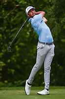 Max Homa (USA) watches his tee shot on 6 during round 2 of the 2019 Charles Schwab Challenge, Colonial Country Club, Ft. Worth, Texas,  USA. 5/24/2019.<br /> Picture: Golffile   Ken Murray<br /> <br /> All photo usage must carry mandatory copyright credit (© Golffile   Ken Murray)