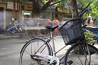 Hanoi<br /> , Vietnam - 2007 File Photo -<br /> <br /> abstract photo of traffic in hanoi street.<br /> <br /> <br /> <br /> photo : James Wong-  Images Distribution