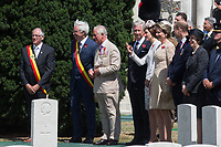 Duke & Duchess Of Cambridge & Prince Charles : Third Battle of Ypres Commemorations : Belgiumi