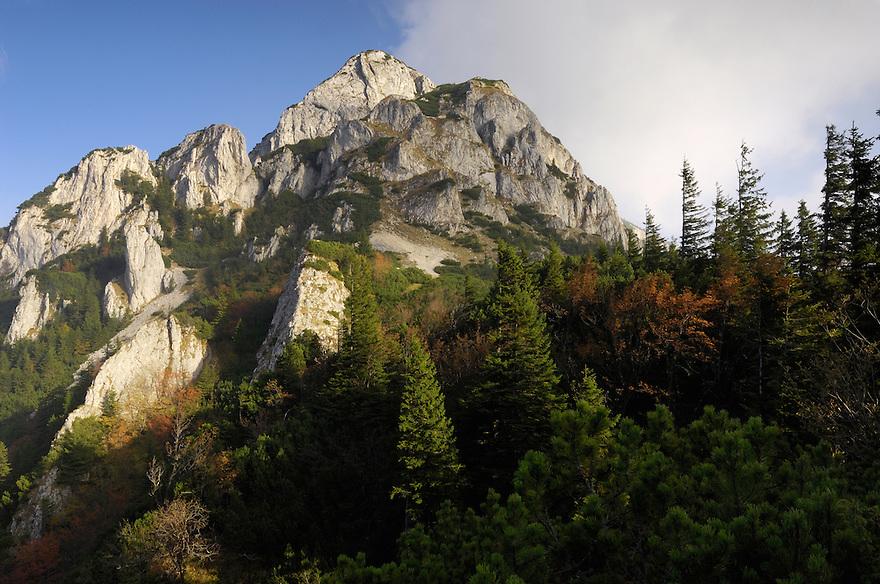 Piatra Mica 1816 m, National Park Piatra Craiului, Transylvania, Southern Carpathians, Romania