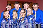 Taking part in the Munster finals of Sco?r Sinnsear in the Gleneagle Hotel on Saturday were the SPA set dancers l-r: Patsy Moynihan, Mairead and Triona Mangan with Joanne O'Connor. Back l-r: Eoin Cronin, David Rae, Michael O'Rourke and John Riney.   Copyright Kerry's Eye 2008