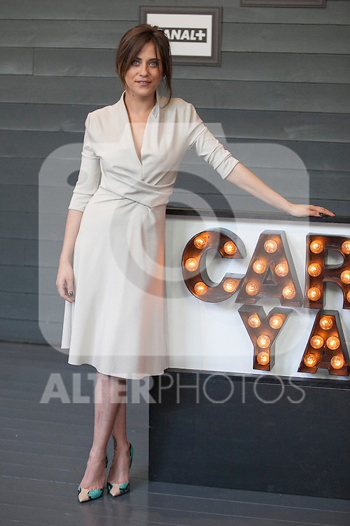 Spanish actress Maria Leon poses during `Carmina y amen´ film premiere photocall at Cineteca Matadero in Madrid, Spain. April 28, 2014. (ALTERPHOTOS/Victor Blanco)