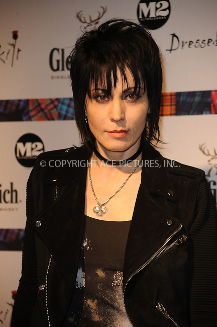 WWW.ACEPIXS.COM . . . . . ....April 5 2010, New York City....Joan Jett at the 8th annual 'Dressed To Kilt' Charity Fashion Show presented by Glenfiddich at M2 Ultra Lounge on April 5, 2010 in New York City....Please byline: KRISTIN CALLAHAN - ACEPIXS.COM.. . . . . . ..Ace Pictures, Inc:  ..(212) 243-8787 or (646) 679 0430..e-mail: picturedesk@acepixs.com..web: http://www.acepixs.com