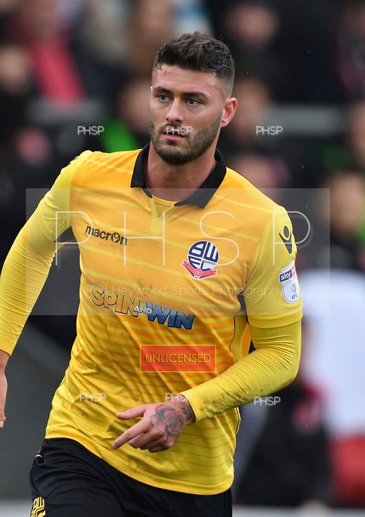 11/03/2017 Sky Bet League 1 Fleetwood Town v Bolton Wanderers<br /> <br /> Gary Madine, Bolton Wanderers FC