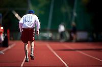 STANFORD, CA - MAY 7, 2013: Bay Area Senior Games at Stanford University