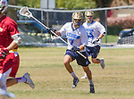 Corona Del Mar, CA 04/02/16 - Jordan Pakzad (Corona Del Mar #7) in action during the non-conference game between the Nike/LM High School Boys' National Western Region #4 Torrey Pines (#4) and #5 Corona Del Mar.  Torrey Pines defeated Corona Del Mar 9-8 in overtime.