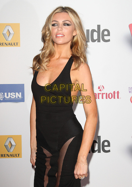Abbey Clancy<br /> Attitude Magazine Awards at the Royal Courts of Justice, The Strand, London, England.<br /> October 15th 2013<br /> half length black dress sheer Abigail<br /> CAP/ROS<br /> &copy;Steve Ross/Capital Pictures
