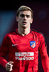 Antoine Griezmann of Atletico de Madrid prior to the La Liga 2017-18 match between Atletico de Madrid and UD Las Palmas at Wanda Metropolitano  on January 28 2018 in Madrid, Spain. Photo by Diego Souto / Power Sport Images
