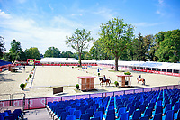 Arena familiarisation: 2017 POL-FEI European Eventing Championship, Strzegom, Poland. Tuesday 15 August. Photo Copyright: Libby Law Photography