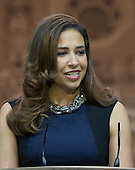 Erika Harold, Miss America, 2003 speaks at the Conservative Political Action Conference (CPAC) at the Gaylord National at National Harbor, Maryland on Saturday, March 8, 2014.<br /> Credit: Ron Sachs / CNP