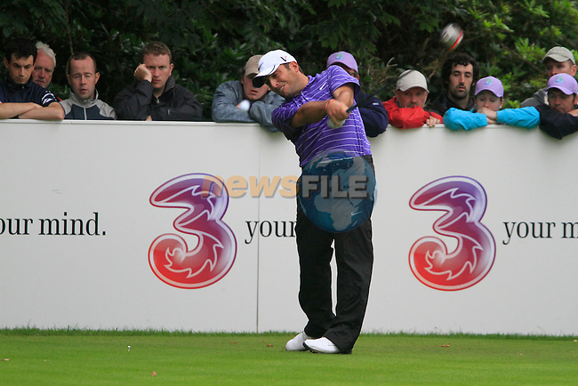 Francesco Molinari tees off on the 15th tee during Day 2 of the 3 Irish Open at the Killarney Golf & Fishing Club, 30th July 2010..(Picture Eoin Clarke/www.golffile.ie)